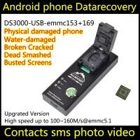 eMMC Reader Socket eMMC169 EMMC153 USB EMMC Programmer Test Socket BGA153 BGA169