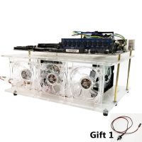 ITX MATX ATX Transparent Motherboard Hard Drive Bracket 10 Layers for 3.5 inch 2.5 inch Drive