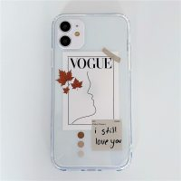 Straight Edge Cartoon Soft TPU Clear Back Cover Phone Cases For iPhone 11 Pro Max X XR XS MAX 7 8 Plus