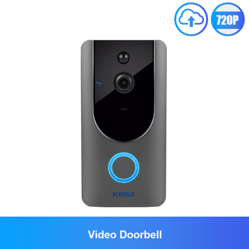 720P Video IP Wifi Wireless Doorbell Camera Chime Intercom Home Security Camera