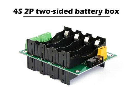 40A 120A 18650 Lithium Battery Balance Holder 4S BMS Power Bank Circuit Box