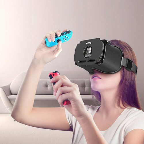 3D VR Headset Glasses for Nintend Switch NS LABO Virtual Reality Movies Game