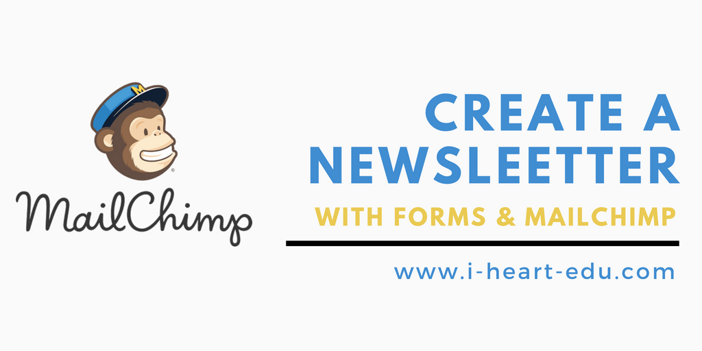 Creating a Class Newsletter with MailChimp