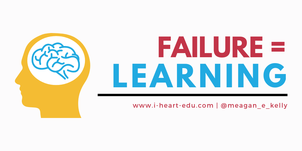 Failure = Learning
