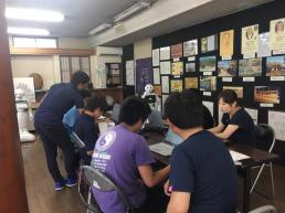 Pepperプログラミング教室開催