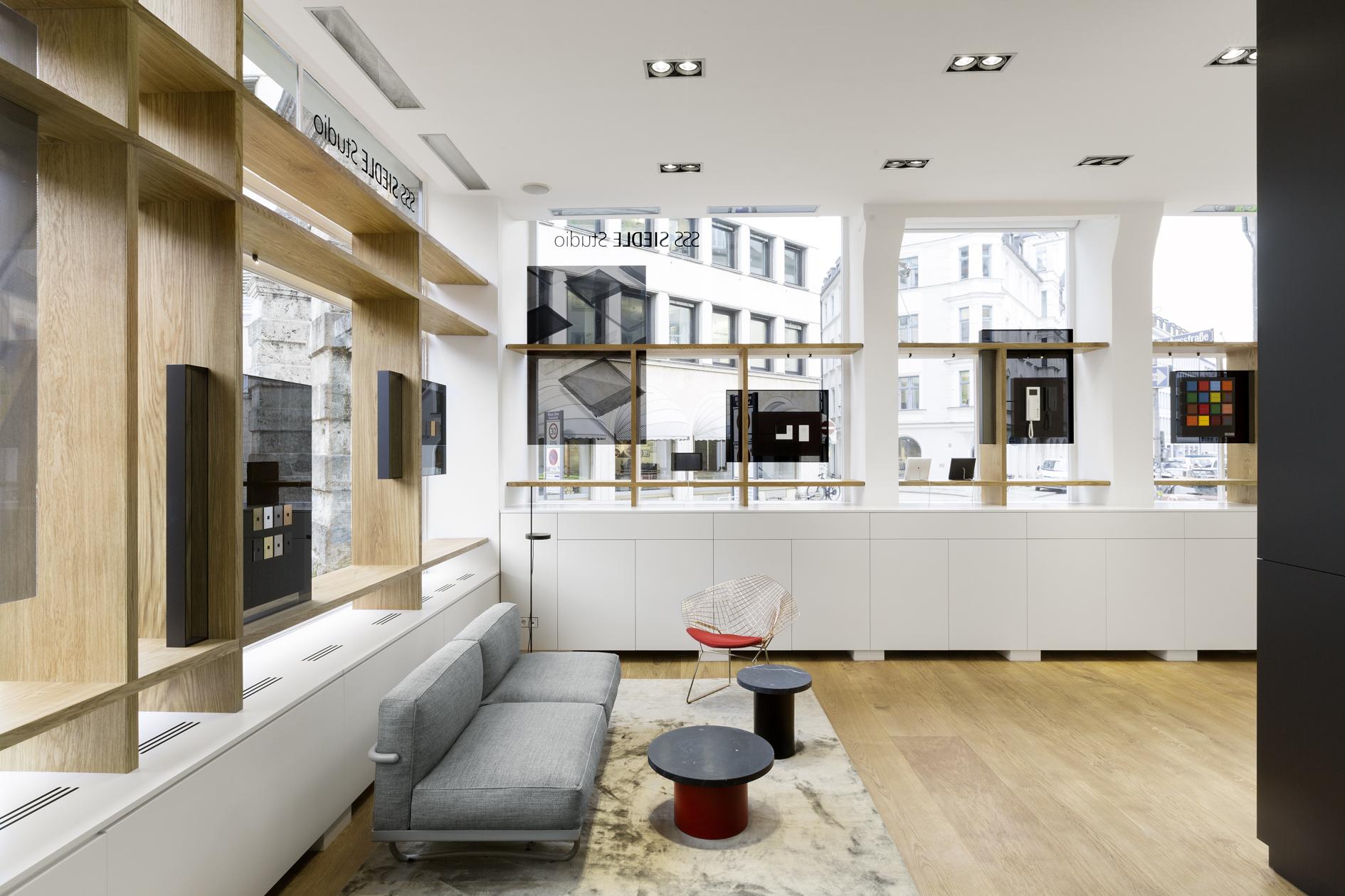 Wohnlich: Das Siedle-Studio München lädt ein, die Marke zu erleben.