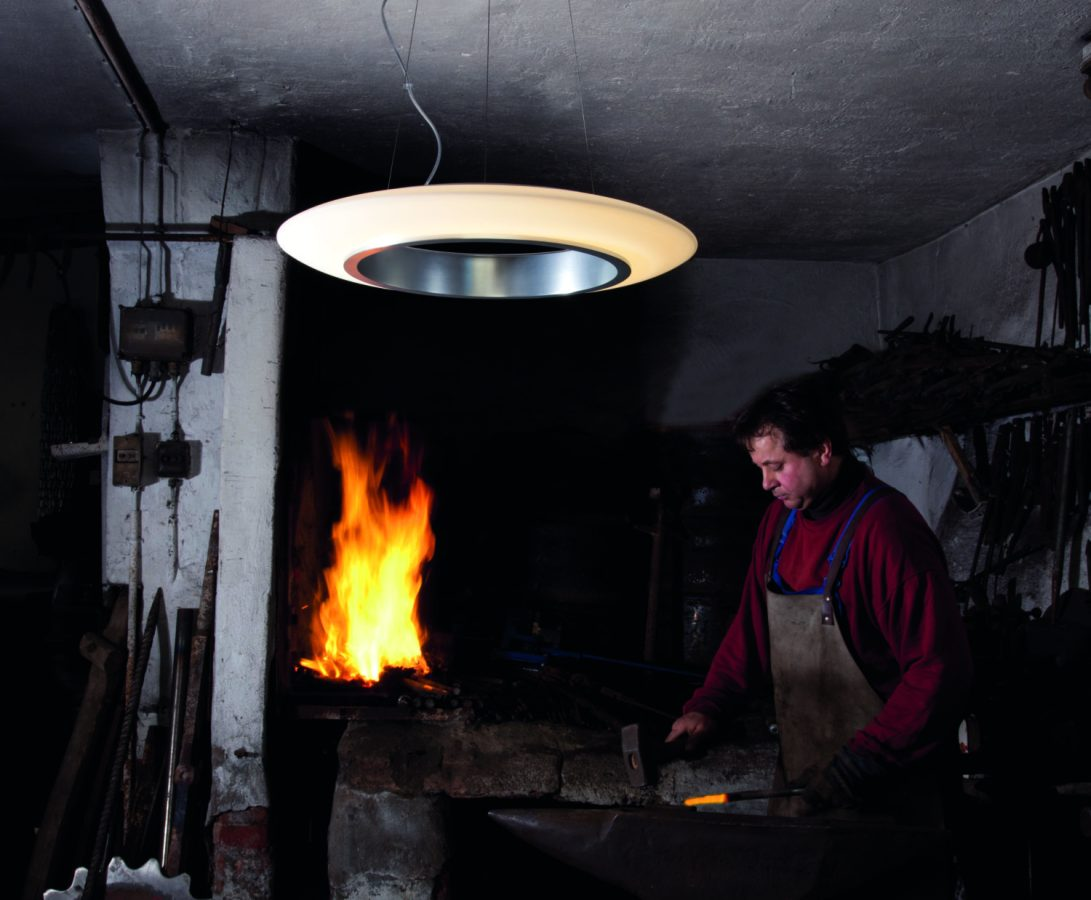 LED-Pendelleuchte »Ring of Fire«