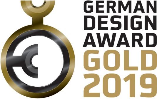 Höchste Auszeichnung für Siedle Axiom: German Design Award 2019 in Gold.