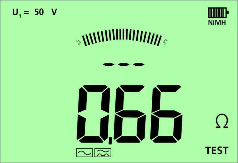 4 Sekunden – und man hat einen aussagekräftigen Schleifenimpedanzwert.