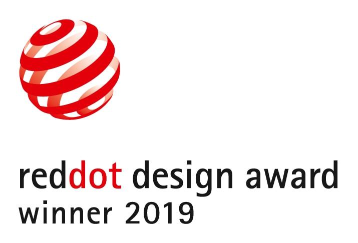 Prämiert: Zu den Gewinnern des begehrten »Red Dot Awards 2019« für hohe Designqualität gehören zwei Produkte von Gira: das »Gira System 3000« und die »Gira Wohnungsstation Video AP 7«. Dieses Jahr hatten sich insgesamt über 5.500 Einreichungen aus 55 Ländern um die international renommierte Auszeichnung beworben. (Logo: Red Dot)