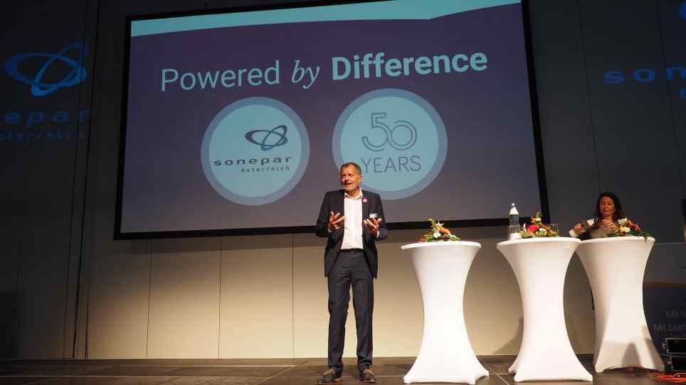CEO von Sonepar, Bernhard Weber.
