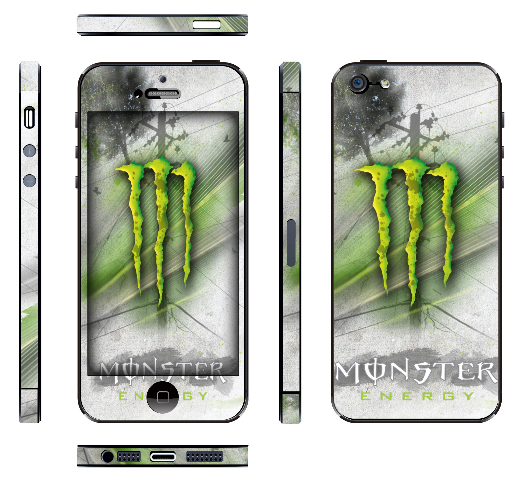 iPhone5_monster-energyBianco imania