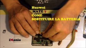 uawei MATE 7 come sostituire batteria
