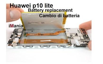 huawei p10 lite sostituzione batteria imania varese