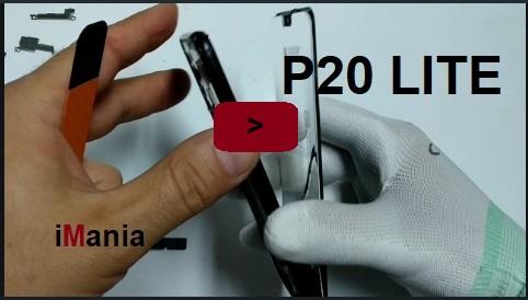 Huawei p20 lite sostituzione vetro touch lcd -Tutorial iMania-