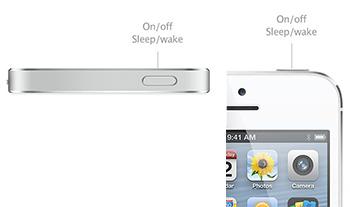iPhone スリープボタン