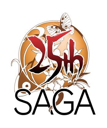 サガ25周年ロゴ