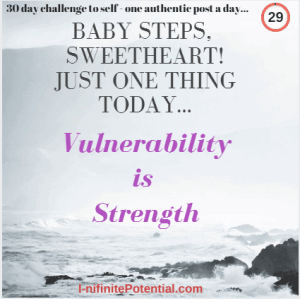 Today I am just sharing a personal story of vulnerability and grief…