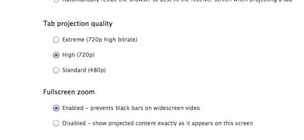 Chromecast 的圖本地端播放限制在 720p。圖片來源:@othercatlee