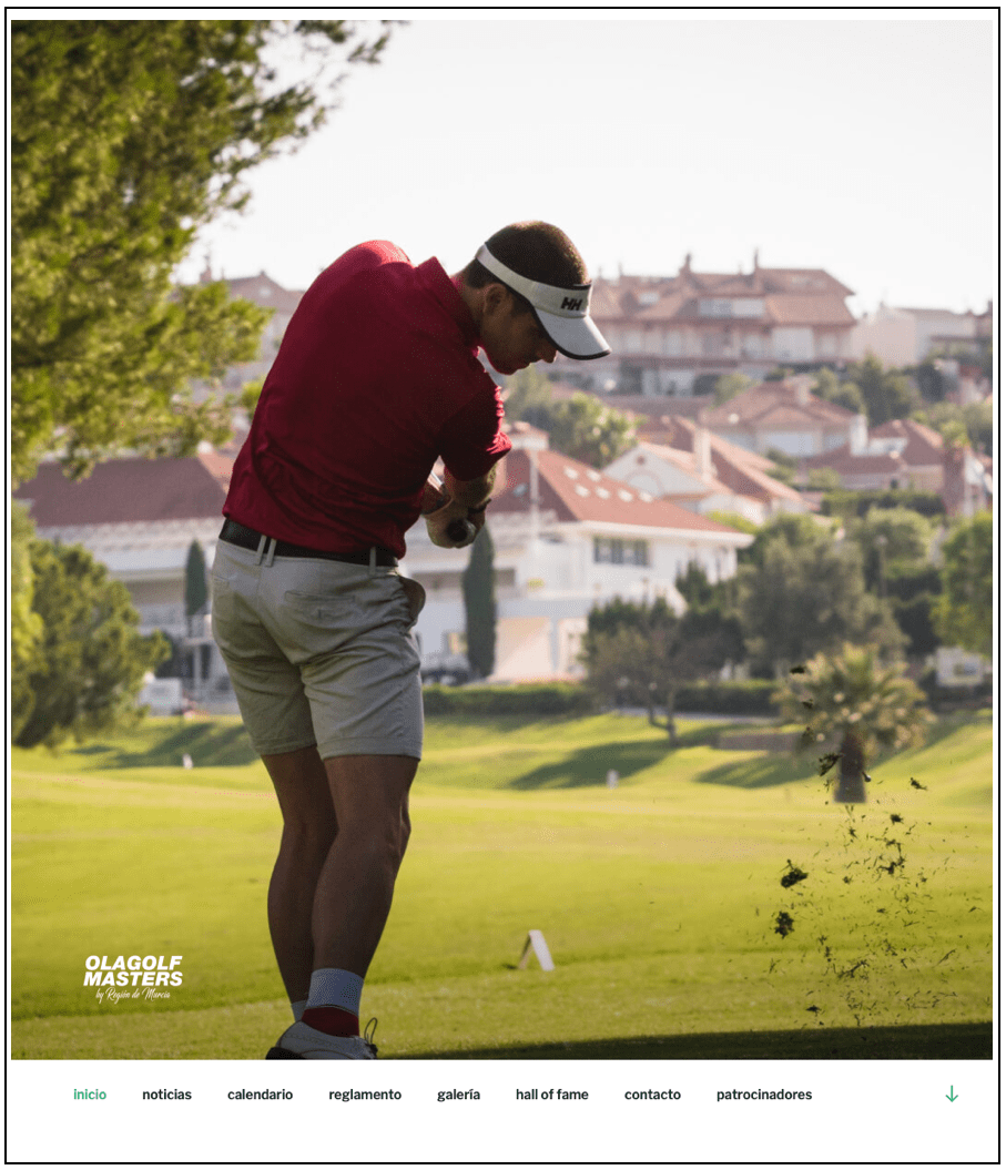 web olagolfmasters powered by iOne Sport Leisure & Tech