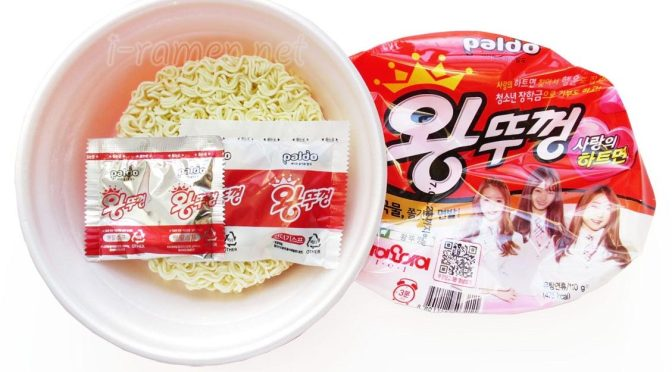 No.5935 Paldo (South Korea) Jumbo Noodles Hot & Spicy