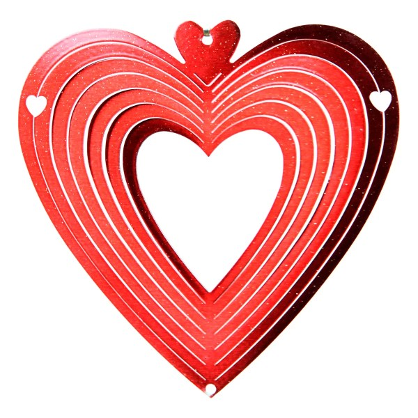 Heart Wind Spinner iSpin