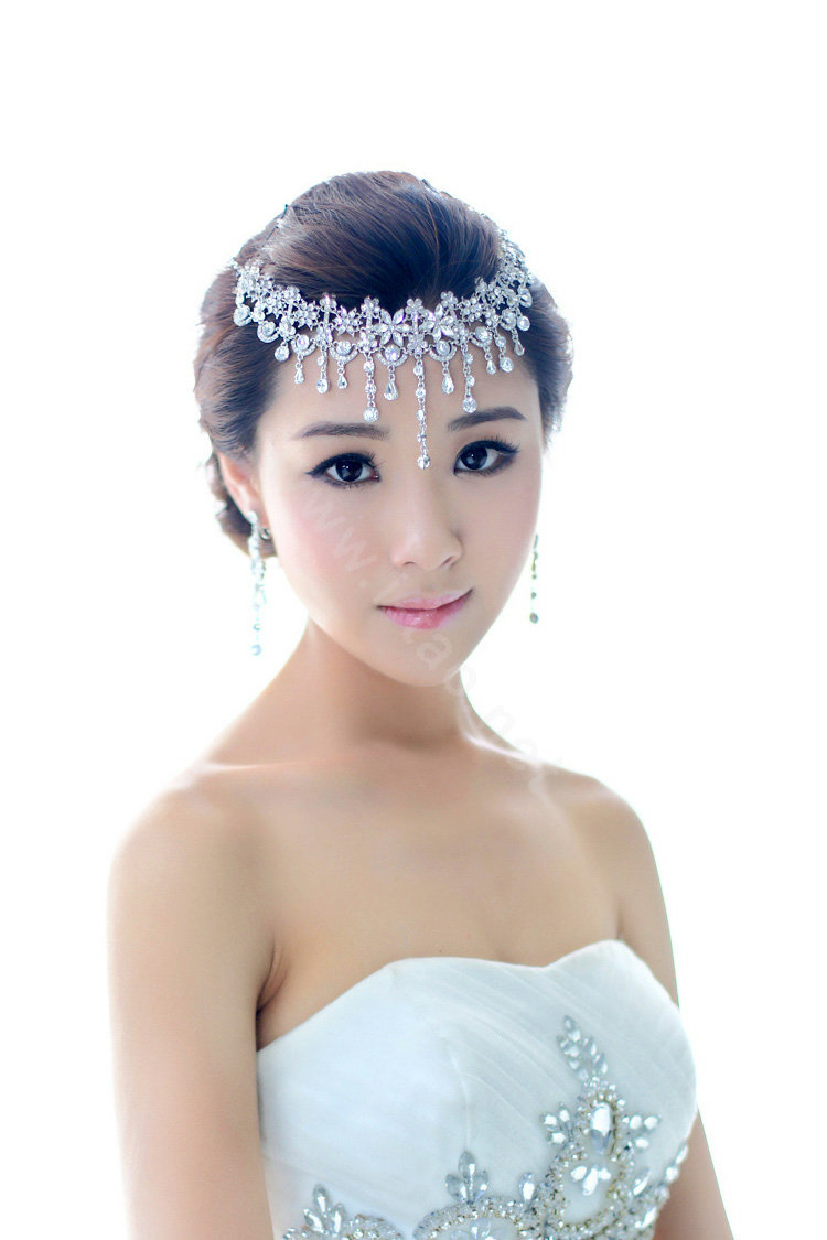 Buy Wholesale Bridal Jewelry Crystal Headband Headpiece