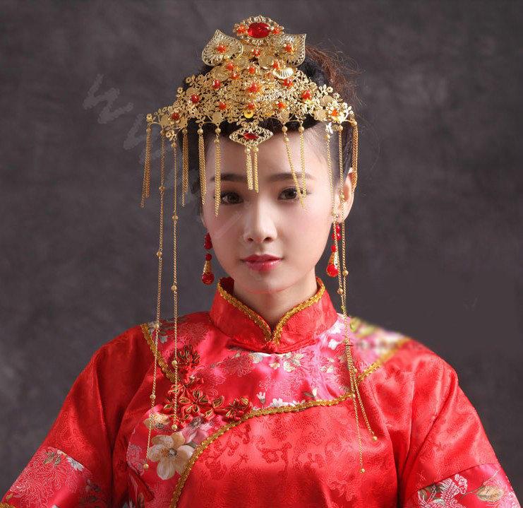 Buy Wholesale Elegant Bride Chinese Style Costume Tassel