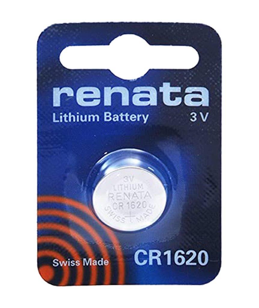 Renata Swiss Made 3V 68mAh Lithium Batteries Cell Coin Button Watch Battery CR1620