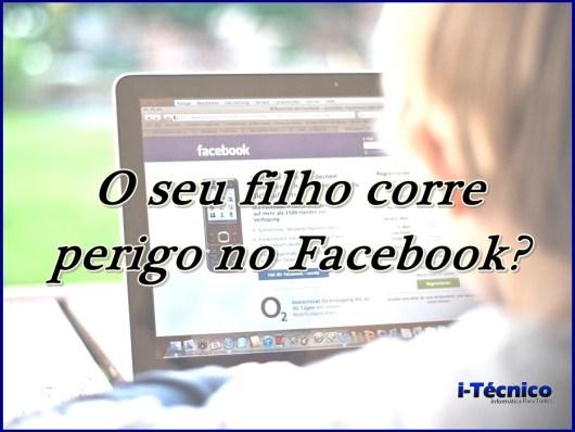 Facebook-criança