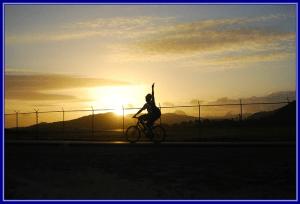 ciclista-por-do-sol