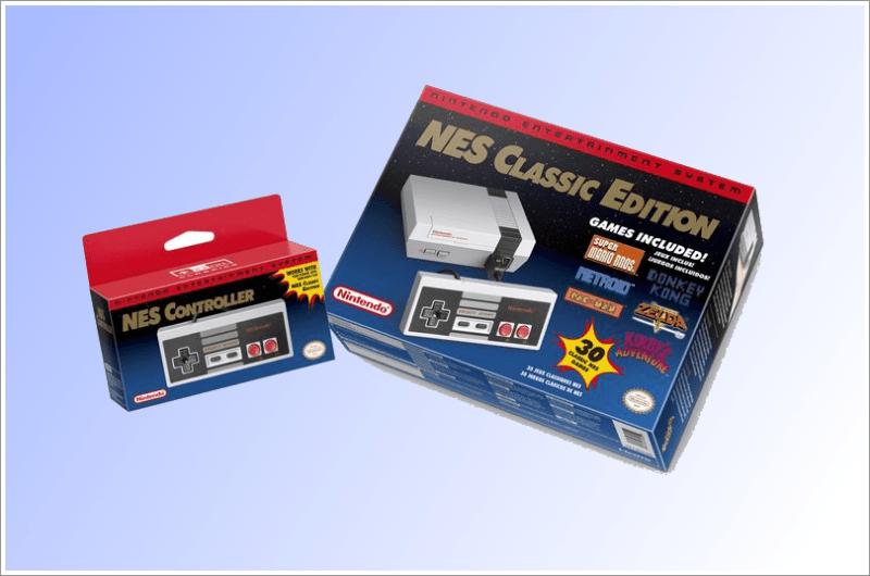 Caixa Nintendo NES Classic Edition