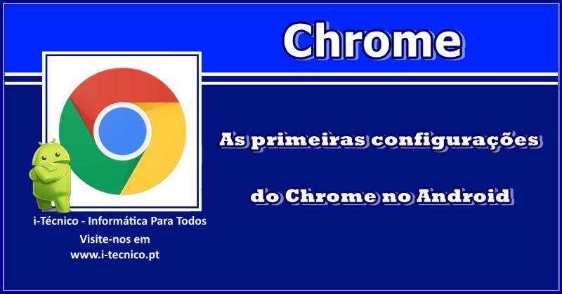 Chrome-primeiras-configuracoes