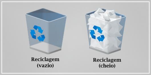 Reciclagem (vazio / cheio)