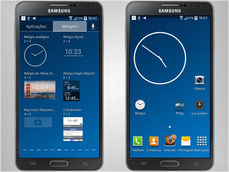Widgets Samsung