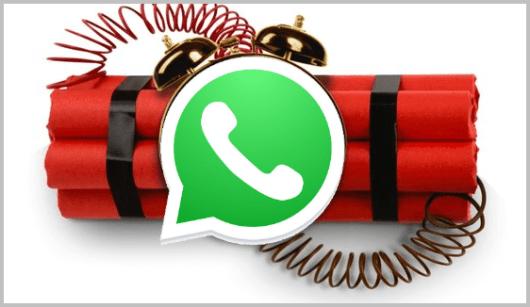 WhatsApp bomba