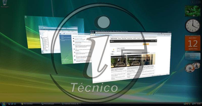 Windows Vista aero