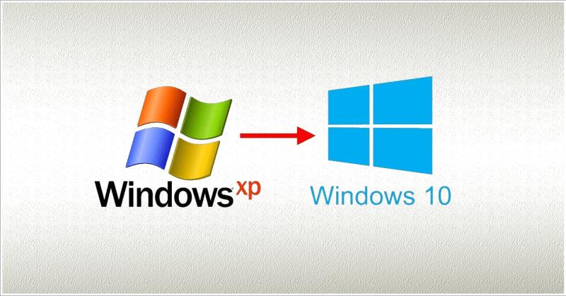 Windows 10 - Windows XP