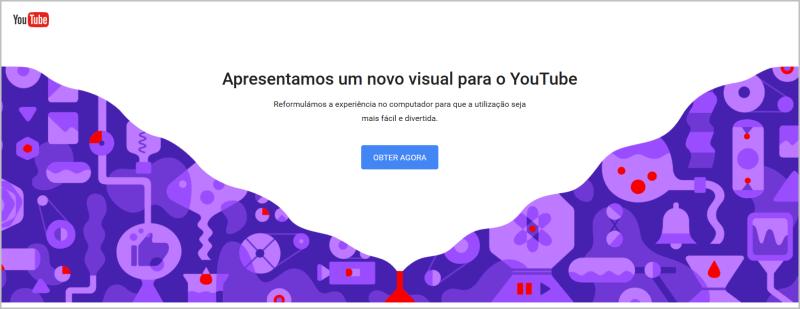 YouTube Material Design - Obter agora
