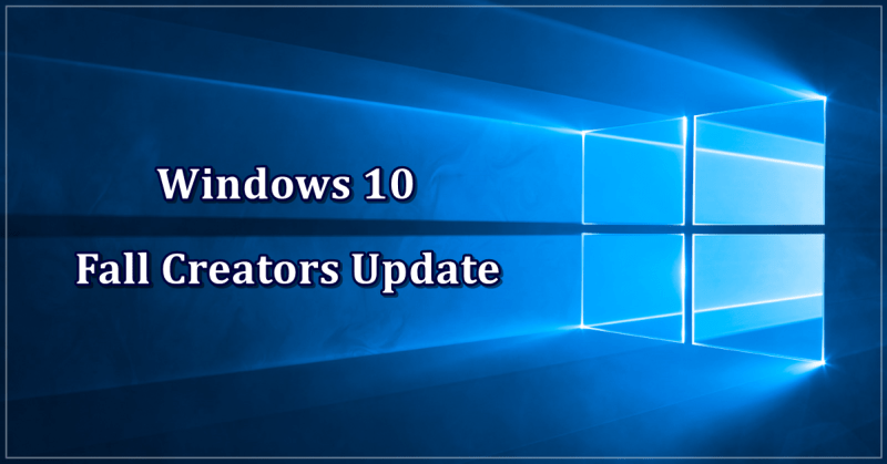Windows 10 Fall Creators Update - Novidades