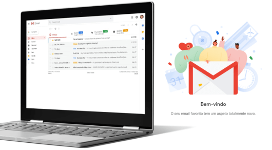 Gmail - Novo look