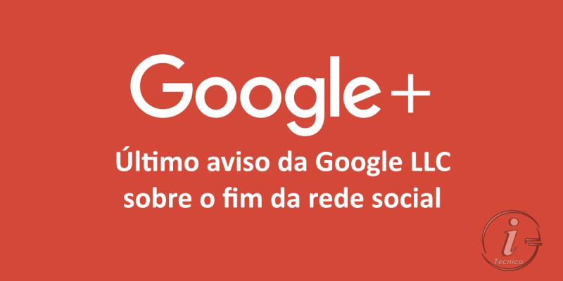 Último aviso da Google
