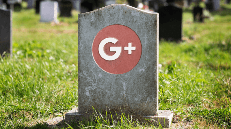 Google Plus fechou