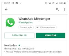 WhatsApp - Atualizar no Google Play