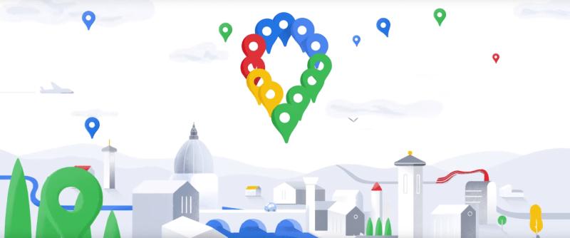 Google Maps - 15 anos - novo PIN