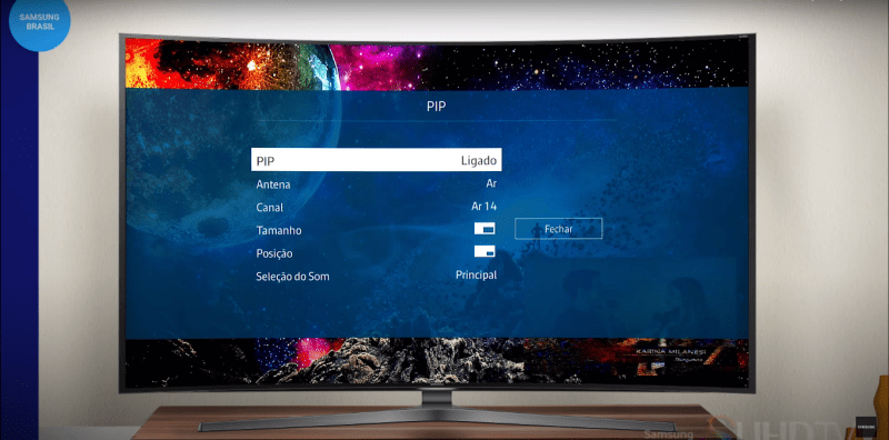 PiP - Picture in Picture - Samsung TV