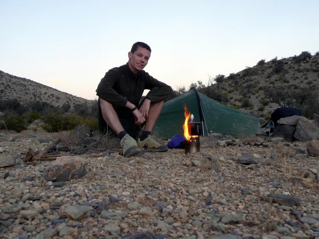 test rechaud a bois bushbuddy i trekkings