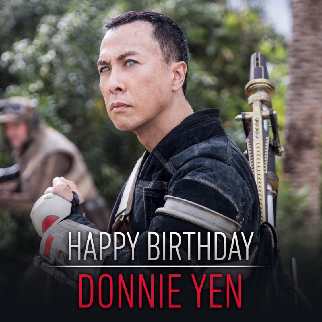 Happy Birthday to Donnie Yen AKA Chirrut Îmwe