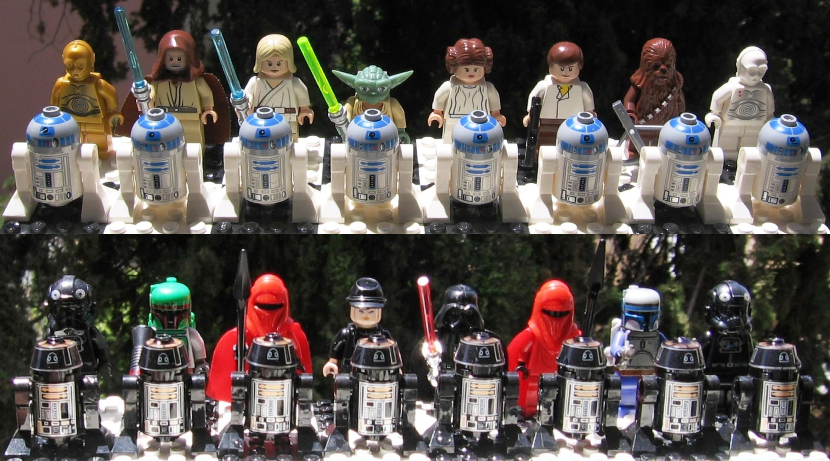 DIY Star Wars LEGO Chess
