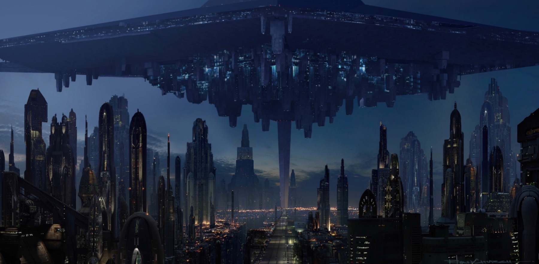 First ordered occupied coruscant